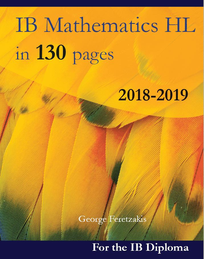 IB Mathematics HL book