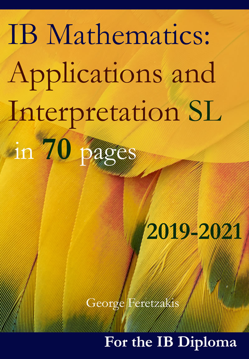 IB Mathematics: Applications and Interpretation SL